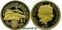 1 NZ Dollar 2007 Neuseeland - New Zealand Neuseeland - New Zealand - 1 ... 113,00 EUR  zzgl. 6,00 EUR Versand