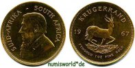 Krügerrand 1967 Südafrika Südafrika - Krügerrand - 1967 Stg  1624,00 EUR kostenloser Versand