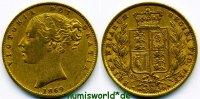 1 Sovereign 1869 Großbritannien Großbritannien - 1 Sovereign - 1869 ss ... 380,00 EUR  zzgl. 6,00 EUR Versand