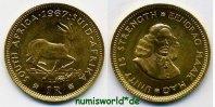 1 Rand 1967 Südafrika Südafrika - 1 Rand - 1967 Stg  161,00 EUR  zzgl. 6,00 EUR Versand