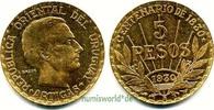 5 Pesos 1930 Uruguay Uruguay - 5 Pesos - 1930 vz  480,00 EUR  zzgl. 6,00 EUR Versand