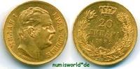 20 Dinara 1882 Serbien Serbien - 20 Dinara - 1882 vz+  489,00 EUR  zzgl. 6,00 EUR Versand