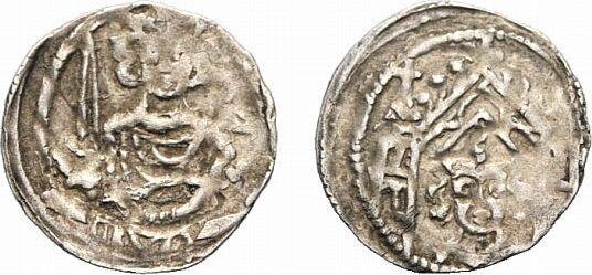 Vierling 1310-1330 Werden Werden und Helmstedt, Abteien Wilhelm II. von Hardenberg 1310-1330 Von großer Seltenheit. Kl. Prägeschwäche, sehr schön