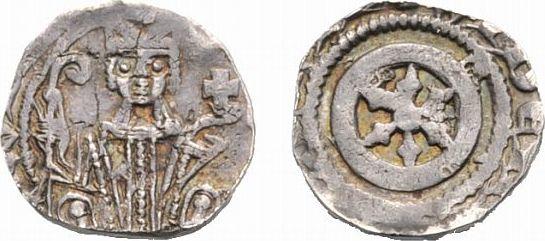 Pfennig 1259-1264 Wiedenbrück Osnabrück, Bistum Baldewin von Russel 1259-1264 Kl. Prägeschwäche, sehr schön