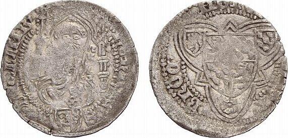 Weißpfennig 1443-1486 Broich Limburg, Grafschaft Heinrich 1443-1486 Von großer Seltenheit. Schön, kl. Prägeschwäche, sehr schön