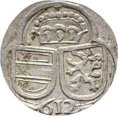 2 Pfennig 1612 Graz Haus Habsburg Ferdinand II., als Erzherzog 1592-1618 Sehr selten. Vorzüglich - Stempelglanz