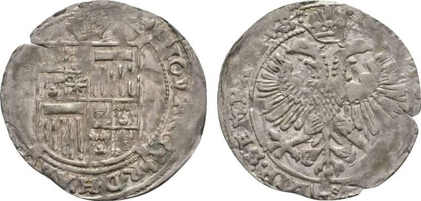 4 Schilling (Blamüser) o.J. Werden Werden und Helmstedt, Abteien Hugo Preutäus 1614-1646 Von großer Seltenheit. Winz. Schrötlingsriß, Prägeschwächen am Rand, sehr schön