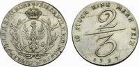 2/3 Taler 1797 Berlin Brandenburg-Preußen ...