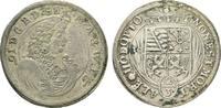 2/3 Taler 1691 IGS Sachsen-Meiningen Bernh...