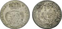 1/12 Taler 1734 LR Hessen-Kassel Friedrich...