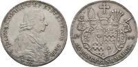 20 Kreuzer 1787 Bamberg Würzburg Bistum Franz Ludwig Von Erthal Eine Feine Marck Münzen Mittelalter