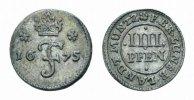 Braunschweig-Calenberg-Hannover 4 Pfennig Johann Friedrich 1665-1679