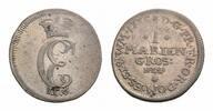 Ostfriesland Mariengroschen Karl Edzard 1734-1744