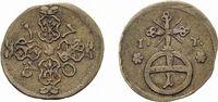 Sachsen-Gotha-Altenburg Pfennig Friedrich II. 1691-1732