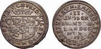 Brandenburg-Preußen 2 Groschen Friedrich Wilhelm 1640-1688