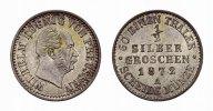 Brandenburg-Preußen 1/2 Silbergroschen Wilhelm I. 1861-1888