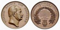 Brandenburg-Preußen Bronzemedaille Wilhelm I. 1861-1888