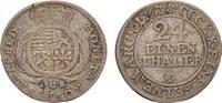 Sachsen-Coburg-Saalfeld 1/24 Taler Franz Josias 1745-1764