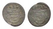 Württemberg Kipper Cu Kreuzer Johann Friedrich 1608-1628