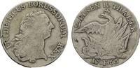 Brandenburg-Preußen 1/2 Taler Friedrich II. 1740-1786