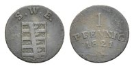 Sachsen-Weimar-Eisenach Cu Pfennig Carl August 1775-1828