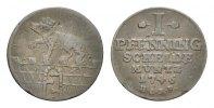 Anhalt-Bernburg Cu Pfennig Victor Friedrich 1721-1765
