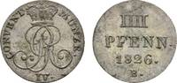 Braunschweig-Calenberg-Hannover 4 Pfennig Georg IV. 1820-1830