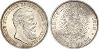 2 Mark 1888 Preußen Friedrich III. 1888. Prachtexemplar. Stempelglanz  140,00 EUR  zzgl. 4,00 EUR Versand