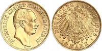 10 Mark Gold 1906  E Sachsen Friedrich August III. 1904-1918. Winzige K... 630,00 EUR kostenloser Versand