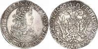 Taler 1660 Haus Habsburg Leopold I. 1657-1705. Schöne Patina. Kratzer, ... 660,00 EUR kostenloser Versand