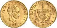 Kuba 2 Pesos Gold Republik seit