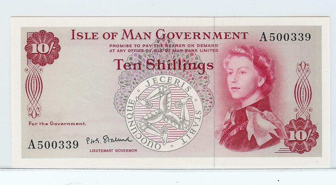 10 Shilling nd Isle of Man kfr