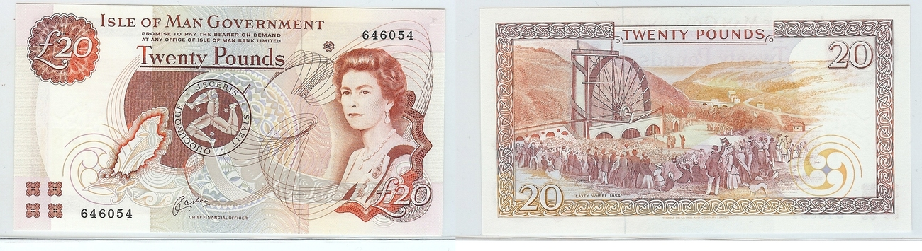 £20 nd Isle of man kfr