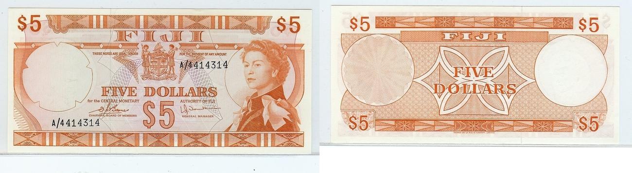$5 nd Fiji kfr
