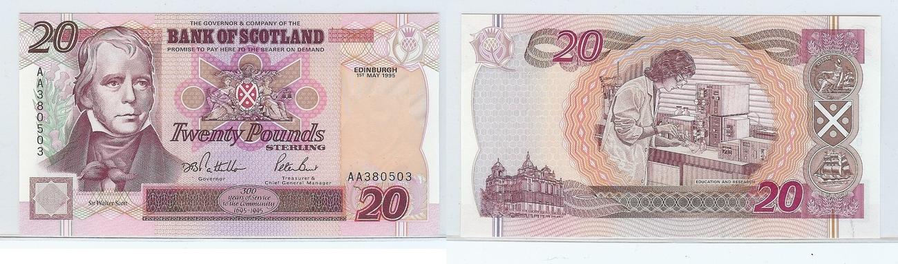 £20 1995 Scotland kfr