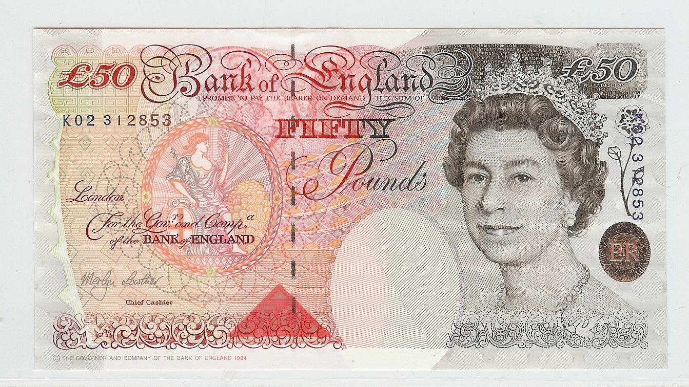 £50 nd Great Britain kfr