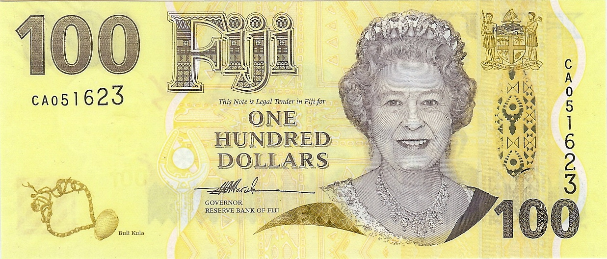 $100 nd Fiji kfr