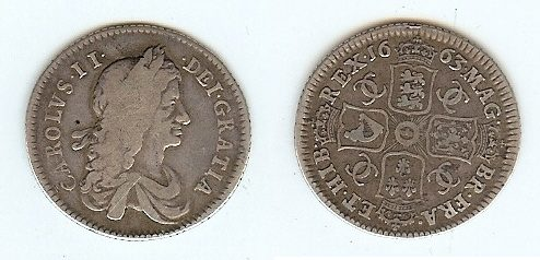 Shilling 1663 Great Britain s-ss