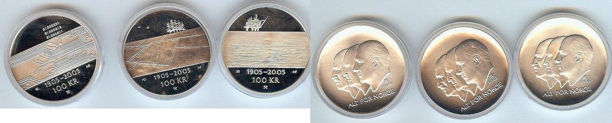 3x100 Kroner 2004-05 Norway pp