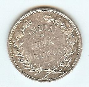 Rupee 1912 Portugise India vz