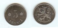 Finland 5 Pennia iron