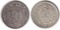 20 Pfennig 1876 Kaiserreich 20 Pfennig 1876 J Schöne Patina. Fast Stemp... 75,00 EUR  +  5,00 EUR shipping