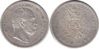 Kaiserreich 5 Mark Preussen Wilhelm I. 5 Mark 1876 B