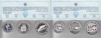 Jugoslawien 100, 250 und 500 Dinara 100, 250 und 500 Dinara 1982 Olympische Spiele in Sarajevo 1983 (3 Stück)