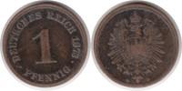 Pfennig 1873 Kaiserreich Pfennig 1873 D sehr schön / schön  340,00 EUR  +  5,00 EUR shipping