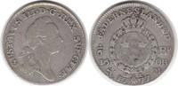 1/6 Riksdaler 1777 Schweden Gustav III. 1/6 Riksdaler 1777 OL Sehr schön  65,00 EUR  zzgl. 4,00 EUR Versand
