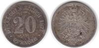 20 Pfennig 1874 Kaiserreich 20 Pfennig 1874 E sehr schön - vorzüglich  20,00 EUR  +  5,00 EUR shipping