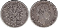 2 Mark 1877 Kaiserreich Bayern Ludwig II. 2 Mark 1877 D schön - sehr sc... 50,00 EUR  +  5,00 EUR shipping