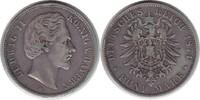 5 Mark 1874 Kaiserreich Bayern Ludwig II. 5 Mark 1874 D Randfehler, fas... 55,00 EUR  +  5,00 EUR shipping