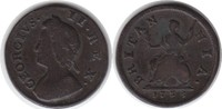Farthing 1735 Grossbritannien George II. 1727-1760 schön - sehr schön  50,00 EUR  +  5,00 EUR shipping